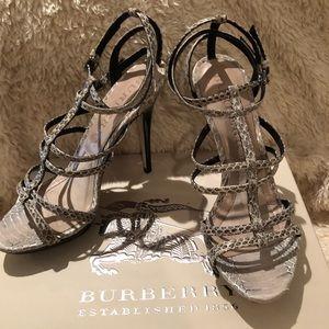 Authentic Burberry size 37.5 Sandal